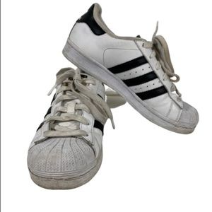 Adidas Superstar Shell-Toe white Youth Sz 4.5